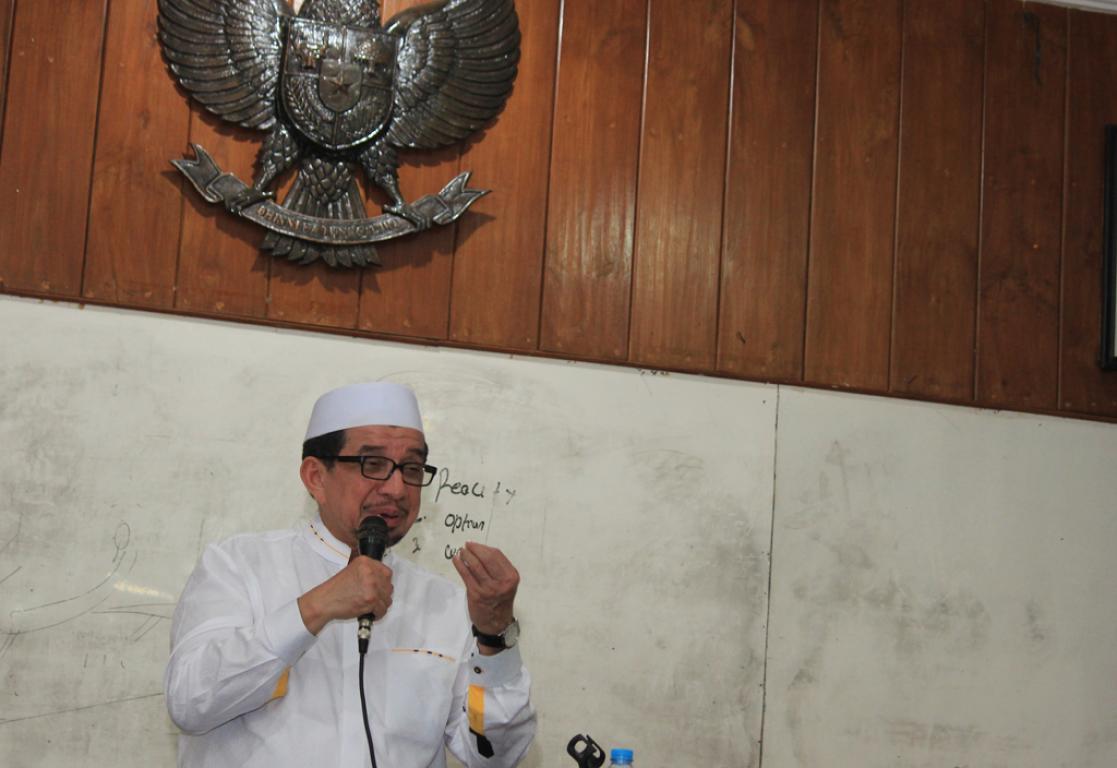 Ketua Majelis Syuro Partai Keadilan Sejahtera (PKS), Salim Segaf Al Jufri