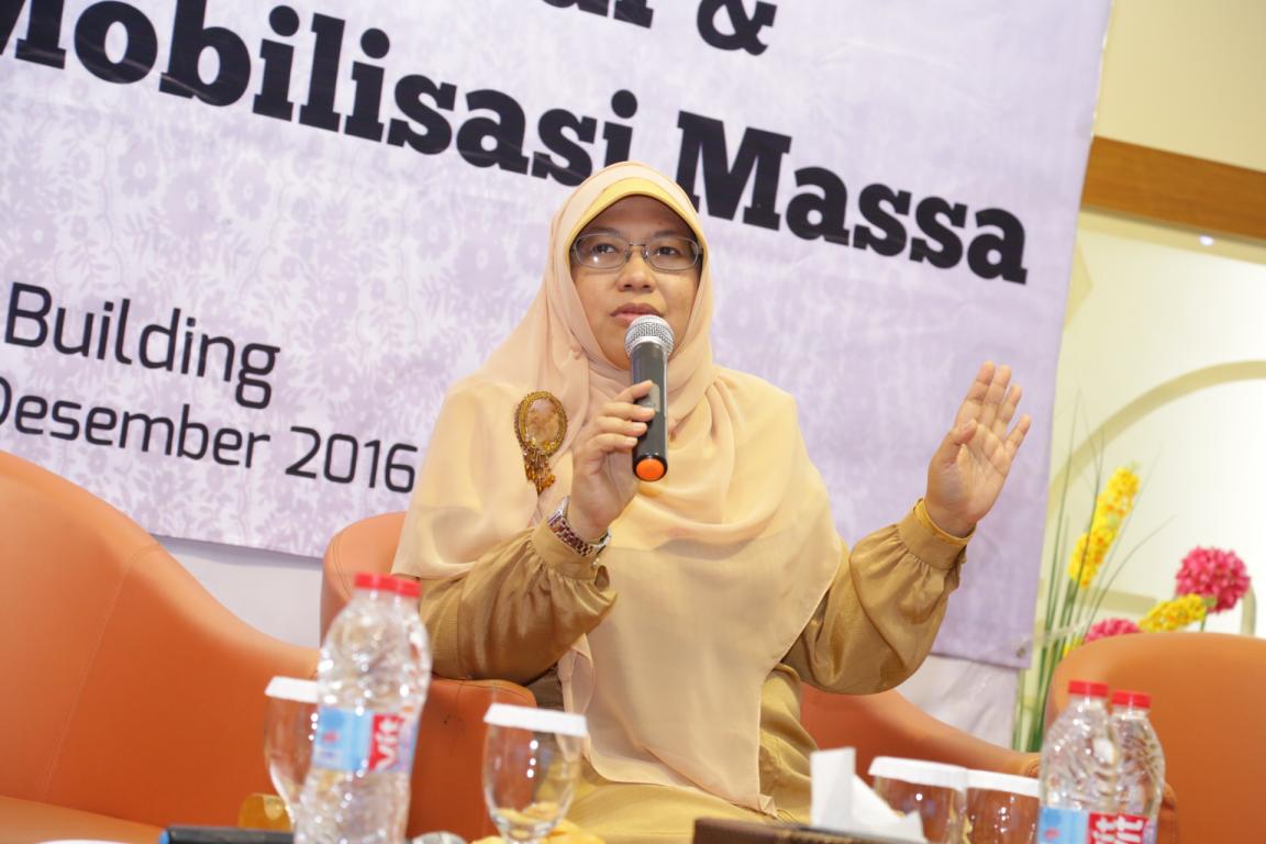 Ketua Bidang Humas DPP PKS Ledia Hanifa