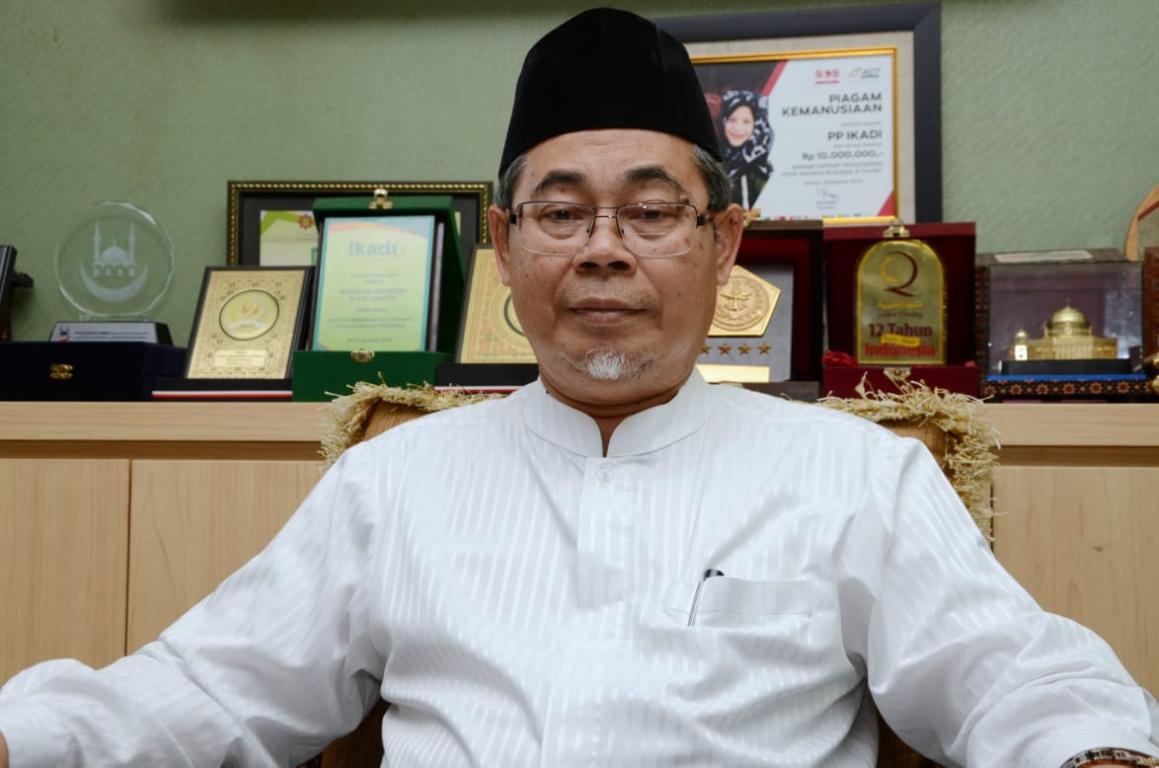 Ketua Umum Ikatan Dai Indonesia (Ikadi), Ahmad Satori Ismail